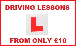 Driving Lessons in Canning Town and Docklands E16 From £10